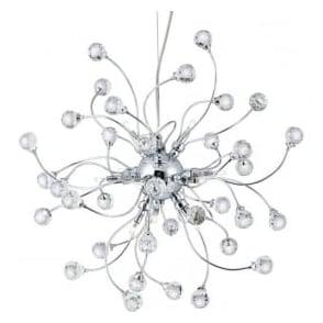 6629-12CC Sonja 12 Light Ceiling Pendant Polished Chrome