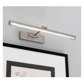 0873 Goya 460 LED 1 Light Picture Light Brushed Nickel