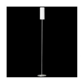 85982 Troy3 1 Light Floor Lamp Satin Nickel