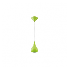 92943 Nibbia 1 Light Pendant Green