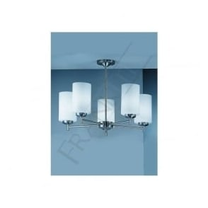 CO9305/727 CO9305EL/727 Decima 5 Light Ceiling Light Matt Nickel
