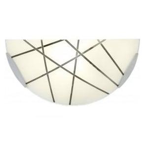 CROSBY-1WBCH 1 Light Wall Light Polished Chrome