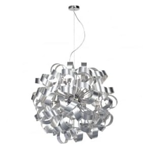 RAW1250 Rawley 12 Light Ceiling Light Aluminium
