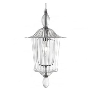 3751CL Wine Bar 1 Light Ceiling Pendant Glass