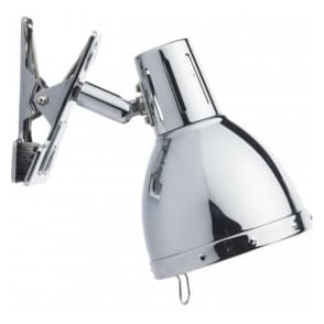 OSA4150 Osaka 1 Light Clip Lamp Polished Chrome