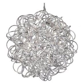 9432 Scribble 6 Light Ceiling Pendant Polished Chrome