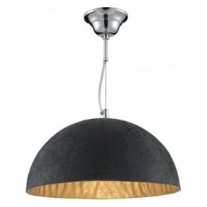 8149GO Dome 1 Light Ceiling Pendant Gold