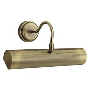 869AB Picture Lights 1 Light Wall Light Antique Brass