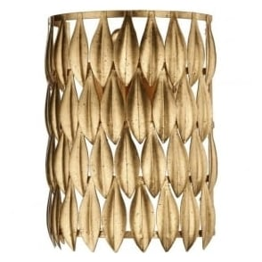 VOL0735 Volcamo 1 Light Switched Wall Light Gold