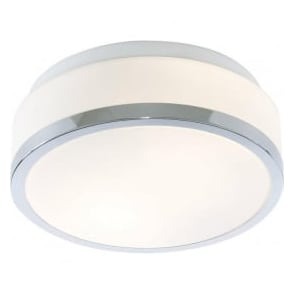 7039-23CC Flush 2 Light Flush Ceiling Light Polished Chrome IP44
