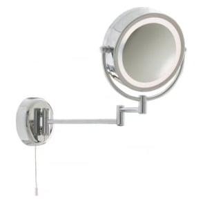 11824 Bathroom Lights 1 Light Wall Light Polished Chrome