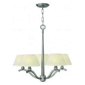 Hinkley HK/WHITNEY5 Whitney 5 Light Ceiling Light Brushed Nickel
