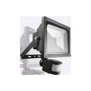 Phoebe Aruna PHT10WFLPIR 10w LED Flood Light IP65 Black