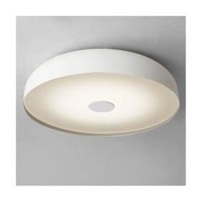 7274 Mantova 3 Light Flush Ceiling Light IP44 White