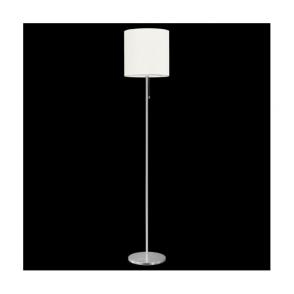 82813 Sendo 1 Light Switched Floor Lamp Brushed Aluminium