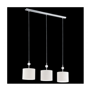92818 Albaredo 3 Light Pendant Polished Chrome
