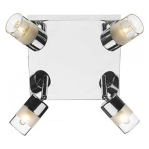ART8550 Artemis 4 Light Spotlight Polished Chrome IP44