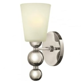 Hinkley HK/ZELDA1-PN Zelda 1 Light Wall Light Polished Nickel