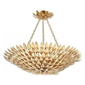VOL5435 Volcano 5 Light Ceiling Pendant Gold
