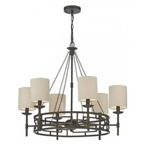 TOD0663 Todd 6 Light Ceiling Light Bronze