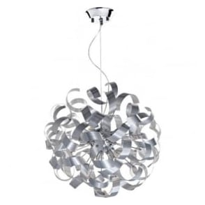 RAW1350 Rawley 9 Light Ceiling Light Aluminium