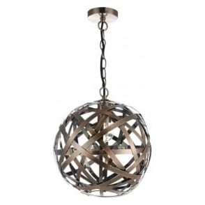 VOY0164 Voyage 1 Light Ceiling Pendant Antique Copper