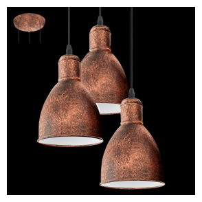 49493 Priddy1 3 Light Pendant Antique Copper