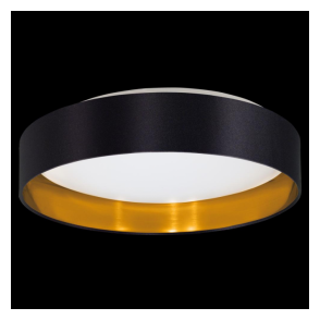 31622 Maserlo LED Ceiling Light Glossy Black