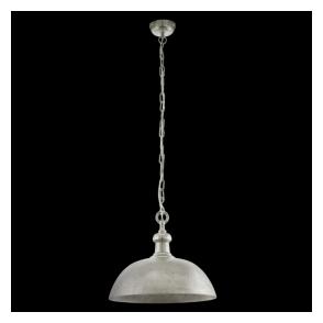 49181 Easington 1 Light Ceiling Pendant Chrome
