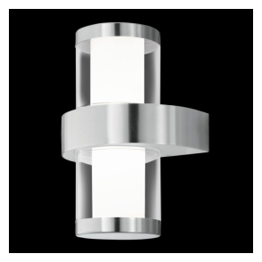 94799 Beverly1 LED Outdoor Wall Light Stainless Steel IP44