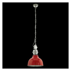 49177 Grantham 1 Light Heavy Duty Ceiling Pendant Red