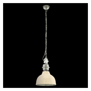 49172 Grantham 1 Light Heavy Duty Ceiling Pendant Beige