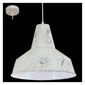 49249 Somerton 1 Light Ceiling Pendant Limed White