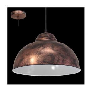 49248 Truro2 1 Light Ceiling Pendant Antique Copper