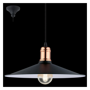 49452 Bridport 1 Light Ceiling Pendant Black Copper