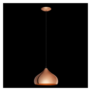 49449 Hapton 1 Light Ceiling Pendant Copper