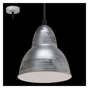 49236 Truro 1 Light Ceiling Pendant Antique Silver