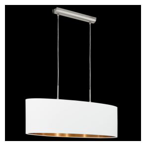 95046 Pasteri 2 Light Pendant Matt White