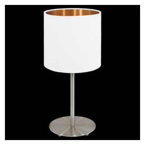 95048 Pasteri 1 Light Table Lamp Matt White