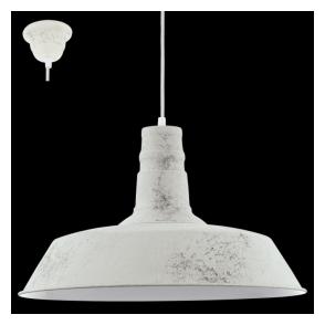 49398 Somerton1 1 Light Ceiling Pendant Limed White