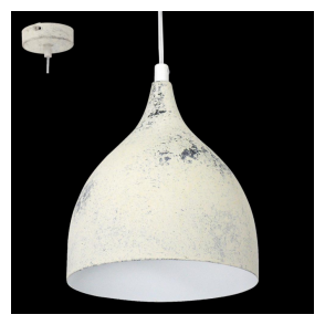 49234 Coretto3 1 Light Small Ceiling Pendant Limed White