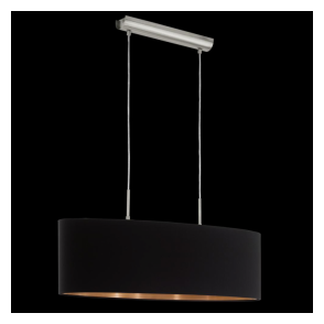 94915 Pasteri 2 Light Pendant Matt Black