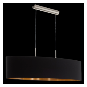 94916 Pasteri 2 Light Pendant Matt Black