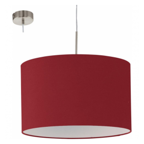 94901 Pasteri 1 Light Pendant Marsala