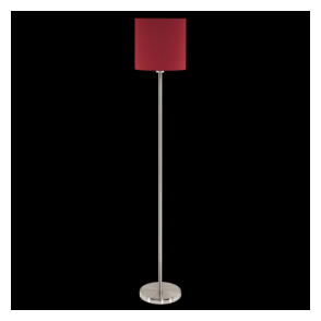 95168 Pasteri 1 Light Floor Lamp Marsala