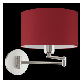 95065 Pasteri 1 Light Switched Wall Light Marsala