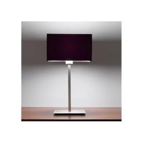 4516 Park Lane Grande Table Lamp Matt Nickel with Shade