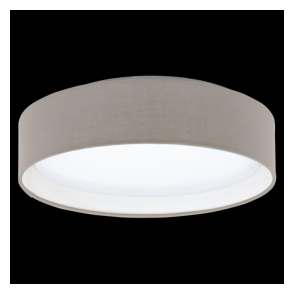 31589 Pasteri LED Ceiling Light Taupe