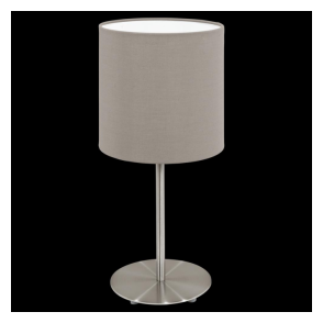 31595 Pasteri 1 Light Table Lamp Taupe