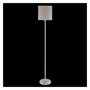 95167 Pasteri 1 Light Floor Lamp Taupe